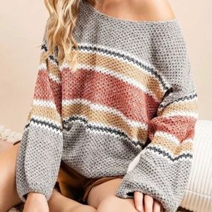 💃🏻Sasha Knit Sweater